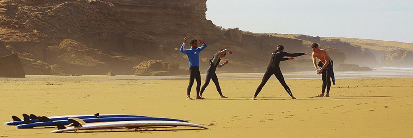 packages crocro surf maroc