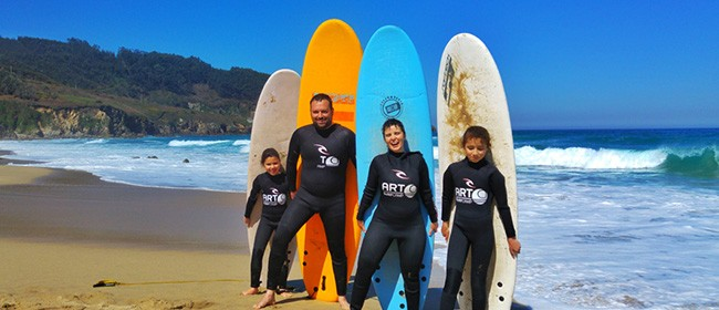 family surf adventure morocco